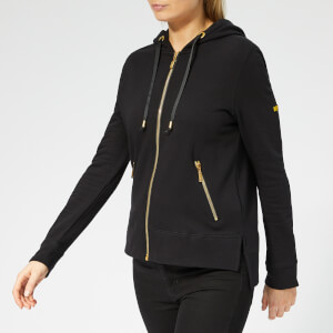 Barbour International Women's League Overlayer Hoody - Black