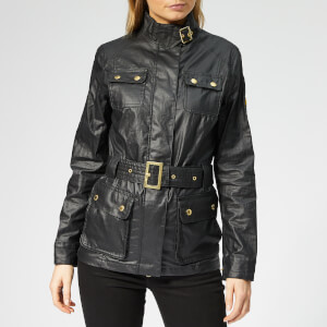 Barbour International Women's Bearings Casual Jacket - Black Tonal