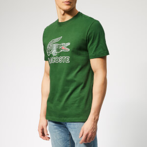 Lacoste Men's Large Logo T-Shirt - Green