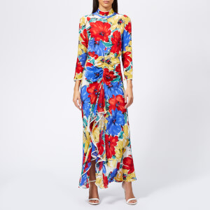 RIXO Women's Lucy Diana Floral Maxi Dress - Multi