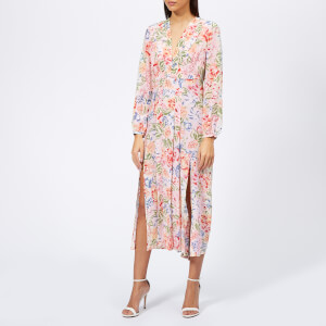 RIXO Women's Camellia Resort Floral Dress - Multi