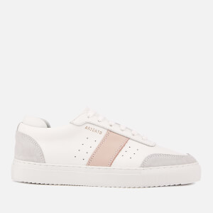 Axel Arigato Women's Dunk Leather Trainers - White/Pink