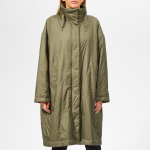 Woolrich Women's Fairview Over Coat - Tropical Green