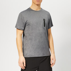 LNDR Men's Tech T-Shirt - Charcoal Marl