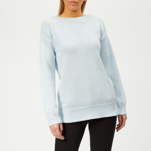 Barbour Women's Sailboat Knitted Jumper - Powder Blue