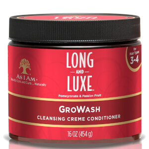 Après-Shampooing Long and Luxe GroWash As I Am 454 g