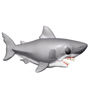Figurine Pop! Les Dents De La Mer - Requin - XXL - 15cm
