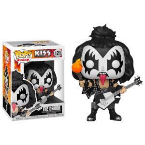 Pop! Rocks KISS The Demon Funko Pop! Figuur
