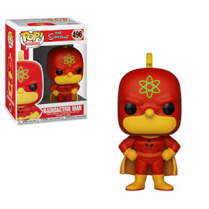 The Simpsons Radioactive Man Animation Pop! Vinyl Figure