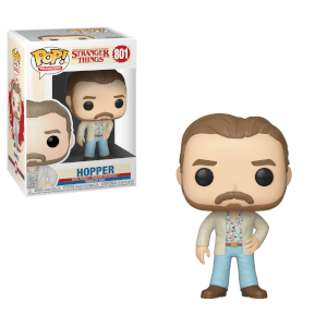 Stranger Things - Hopper All'Appuntamento Figura Pop! Vinyl