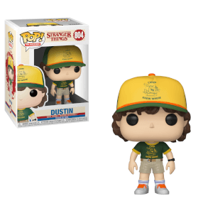 Stranger Things Dustin At Camp Funko Pop! Vinyl
