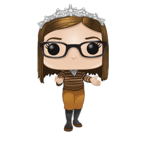 Figura Funko Pop! - Dra. Amy Farrah Fowler - The Big Bang Theory (NYTF)