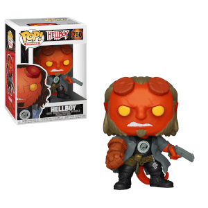 Figurine Pop! Hellboy - T-shirt BPRD