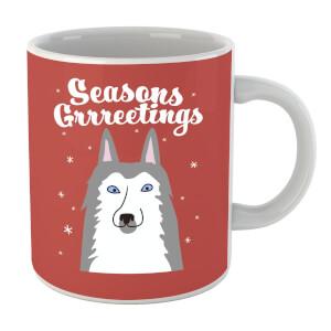 Seasons Grrreetings Mug