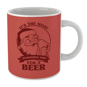 The Most Wonderful Time for A Beer Mug