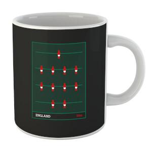 England Fooseball Mug