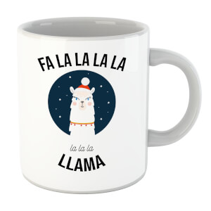 Fa La La La Llama Mug