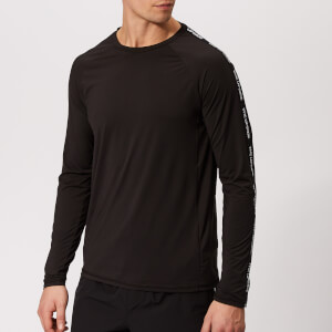 The Upside Men's Performance Long Sleeve Top - Black