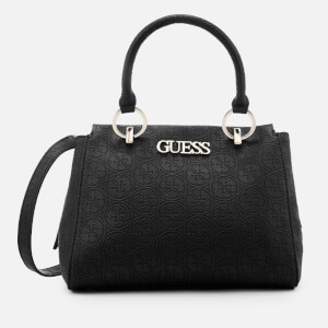 Guess Women's Heritage Pop Girlfriend Satchel - Black