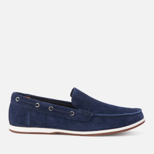 Clarks Men's Morven Sun Nubuck Slip-On Pumps - Navy