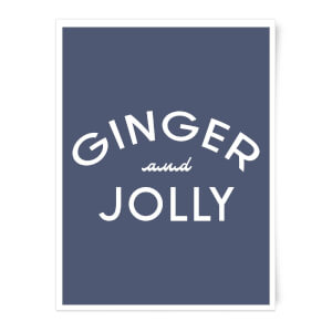 Ginger and Jolly Art Print