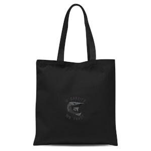 In Gravity We Trust Pocket Tote Bag - Black