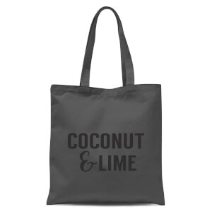 Coconut and Lime Tote Bag - Grey