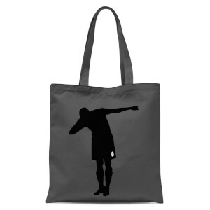 Celebration Dab Tote Bag - Grey