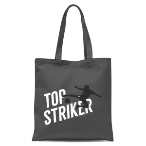 Top Striker Tote Bag - Grey