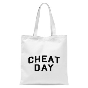 Cheat Day Tote Bag - White