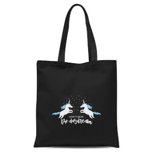 Don't Quit The Daydream Tote Bag - Black