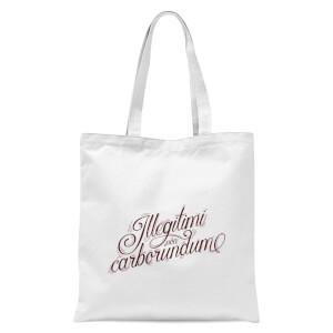 Illegitimi Tote Bag - White