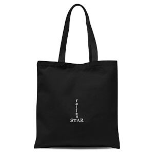 Fallen Star Tote Bag - Black