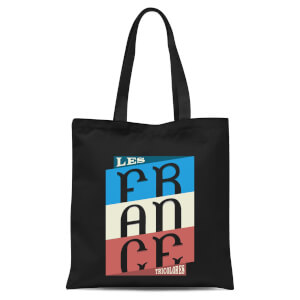 Les Tricolores Tote Bag - Black