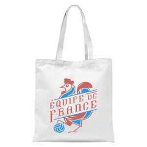 Equipe De France Tote Bag - White
