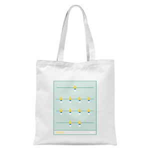 Brazil Fooseball Tote Bag - White