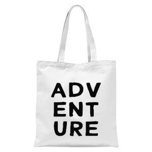 Adventure Tote Bag - White