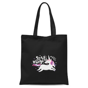 Stay Magical Tote Bag - Black