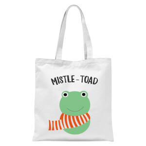 Mistle-Toad Tote Bag - White