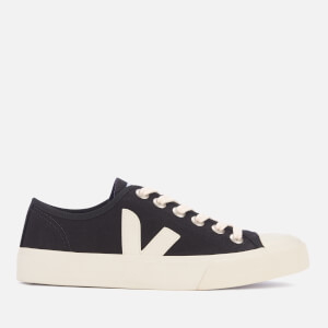 Veja Women's Wata Canvas Trainers - Black/White