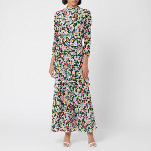 RIXO Women's Lucy Camo Tulip Dress - Multi