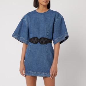 Christopher Kane Women's Columbus Denim Dress - Blue