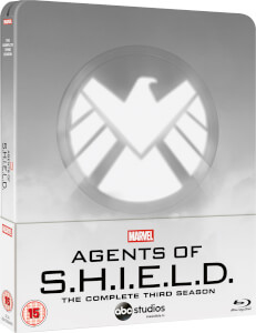 Marvel's Agent of S.H.I.E.L.D. Season 3 - Zavvi UK Exclusive Steelbook