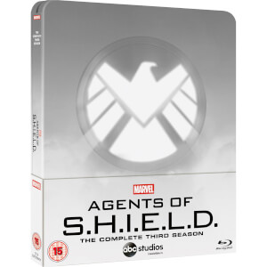 Marvel's Agent of S.H.I.E.L.D. Season 3 - Zavvi Exclusive Steelbook