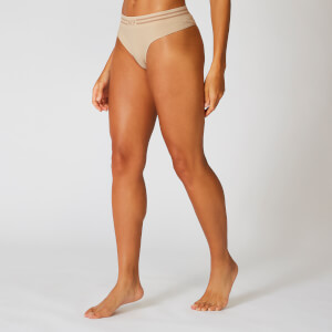 Essentials Seamless Thong - Beige