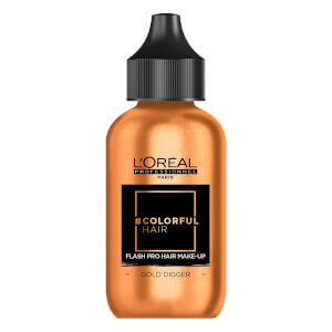 L'Oréal Professionnel Flash Pro Hair Make-Up - Gold Digger 60ml