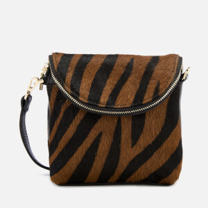 Whistles Women's Victoria Mini Cross Body Bag - Zebra Print