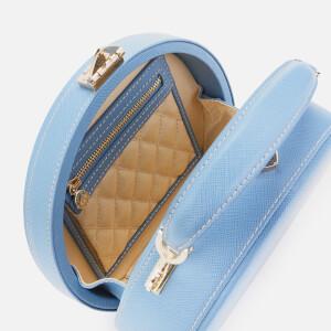 Aspinal of London Women's Hat Box - Mini (Slim Strap) - Bluebird: Image 5