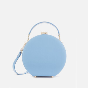 Aspinal of London Women's Hat Box - Mini (Slim Strap) - Bluebird