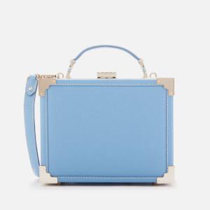 Aspinal of London Women's Trunk Clutch Bag - Bluebird Carrera